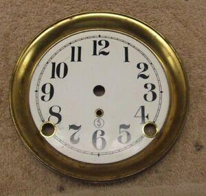 A SETH THOMAS mantle clock dial plate #13