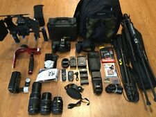 Canon EOS 5D Mark II 21.1 MP Digital SLR Camera,Flash,Grip,3Lens,W/MATTBOX+FOCUS