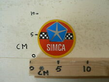 STICKER,DECAL SIMCA  LOGO  VINTAGE RETRO STICKER ? CAR AUTO OLDTIMER