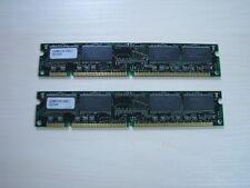 Memory ELPIDA PC133 SDRAM 128MB (2 X 64MB) DIMM 168pin TEST OK!