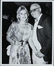 George Christy (Reporter), Meredith Mac Rae ORIGINAL PHOTO HOLLYWOOD Candid 8908