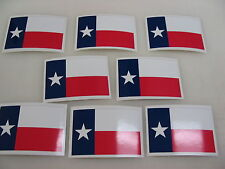 8 TEXAS STATE FLAG Sticker Decal LOT 4 boat car Window Truck suv Wholesale RICA