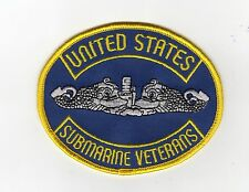 United States Submarine Veterans - Silver Dolphins - BC Patch - c7193