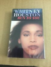 WHITNEY HOUSTON RUN TO YOU FACTORY SEALED CASSETTE SINGLE C30