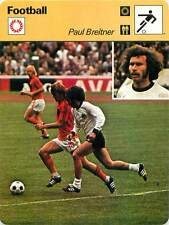 FICHE CARD: Paul Breitner RFA Midfielder Johnny Rep Netherlands FOOTBALL 1970s