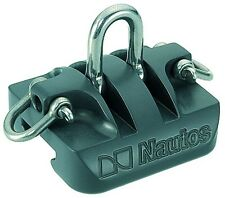 "NAUTOS 91665 - CAR 120MM WITH PIVOTING SHACKLE - TORLON BALL BEARING- ""H"" TYPE"