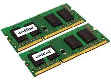 Crucial 8GB DDR3 SDRAM Memory Module - 8 GB (2 x 4 GB) - DDR3 SDRAM - 1333 MHz