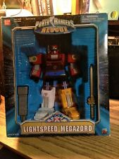 "Power Rangers Lightspeed Rescue 9"" Megazord Bandai New Sealed Box Bandai 1999"