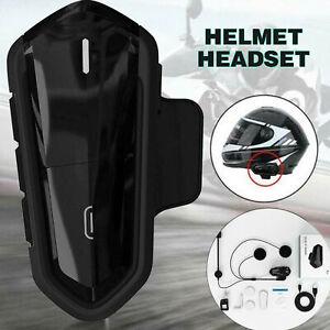 BT-S2 bluetooth Helmet Headset Waterproof Microphone Motorcycle CSR MP3 FM Radio