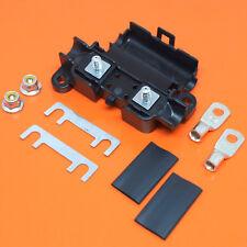 Heavy Duty Midi voiture porte-fusible avec 50 amp bande Fusible bornes & thermorétractables