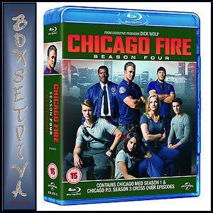 CHICAGO FIRE - COMPLETE SEASON 4  **BRAND NEW BLURAY**