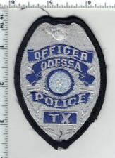 Odessa Police (Texas) Uniform Take-Off Shirt/Jacket Patch from the 1980's