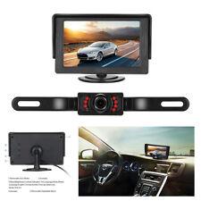 "Car Wireless Rear-view License Plate Car Rear Backup Camera+4.3"" LCD Monitor Kit"