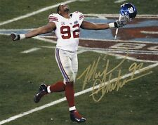 Michael Strahan Signed Autograph 8X10 Photo New York Giants