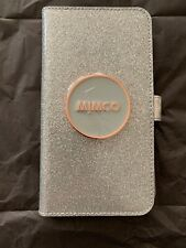 MIMCO SHIMMER FLIP CASE FOR IPHONE 6P/7P/8P SILVER RRP:$99.95