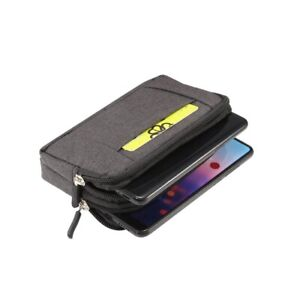 for Samsung Galaxy M01 (2020) Multipurpose Horizontal Belt Case Jeans