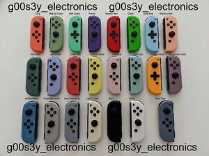 SEND YOUR JOYCONS IN! Custom Nintendo Switch *Solid* Joy Con Swap Service