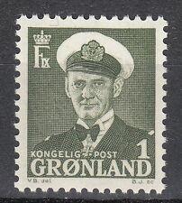 Greenland 1950 Mi 28 Sc 29 MNH King Frederick IX single