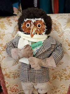 Rare Abercrombie and fitch Motorist Owl collectables dolls stuffed owl
