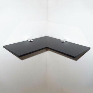 Acrylic Corner Shelf  Hanging Floating Shelf Bathroom /Shower/Kitchen Organizer
