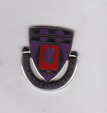 US Army ROTC University of Nebraska crest DUI badge G-23