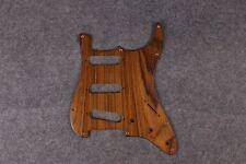 New Strat ST Guitar Pickguard ASH Wood Handmade SSS Style Guitar plate #M-8