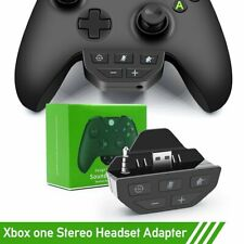 Headset Adapter Headphone Converter For Microsoft Xbox One Game Controller Black