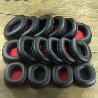 2PCS Square Oval Headphone Earpads Soft Leather Memory Foam Ear Cushion Cover
