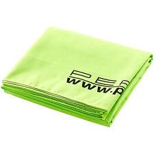 Microfaser Handtuch: Extra saugfähiges Mikrofaser-Badetuch 180 x 90 cm, grün