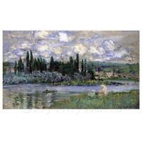 Claude Monet Gemälde Blick auf Vetheuil