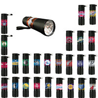 NBA Licensed Basketball Sports Teams Logo 9x LED  Water Resistant Flashlight