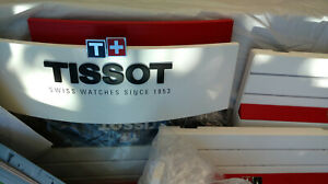 Tissot Watch Display Stand and Advertising.Brochures