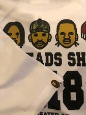 Bape Heads Show T- Shirt.  White XL. Sold Out.  NYC Exclusive.