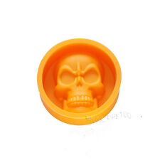 Halloween Skull Ice Cube Chocolate Crayons Soap Bath Bomb Silicone Mold Supplies
