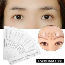 OneTime Draw Eyebrow Ruler Brow Template Stencil Measuring Tools Makeup Best