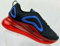 New Nike Air Max 720 Black Red Men Lifestyle Shoes Sneakers AO2924-014