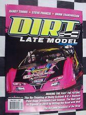Dirt Late Model Magazine May 2018 Racing Mag Rusty Schlenk CJ Rayburn