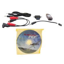 RC Simulatore di volo cavo USB per RealFlight Phoenix FMS (XP Windows 7/8/10)