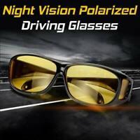 Night Sight Driving Glasses HD Sunglasses Polarized Anti Glare Night Vision UK