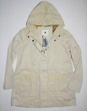New Burton Womens Hazel Snap Up Full Zip Hooded Casual Khaki Cotton Jacket
