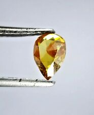 Natural Diamond Rustic Diamond Reddish Brown Diamond 0.57TCW VS1 Pear Rose cut