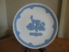 """Wedgwood Jasperware Blue & White Mother's Day 6 1/2"""" Collector Plate 1979"""