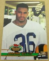 1993 Topps Stadium Club Jerome Bettis #108 Draft Pick Rookie