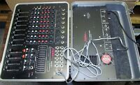Vtg KUSTOM BC-1 Mixer w/Hard Shell Case J0753