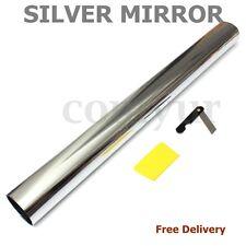MIRROR SILVER 20%  75cm x 3m SOLAR REFLECTIVE WINDOW FILM ONE WAY PRIVACY TINT