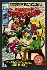 """The Amazing Spiderman Annual #6 """"The Sinister Six"""" (Marvel, 1963) Fine/Fine+"""