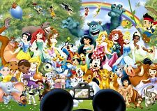 Disney Cuadro De Punto De Cruz