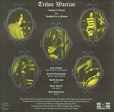 triton warrior -satans train/ sealed in a grave- vinyl 7-inch- ltd. edition