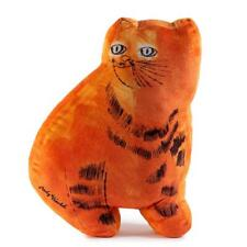 "Andy Warhol Orange Sam the Cat 16"" Limited Edition Plush by Kidrobot (NEW)"