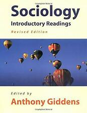 Sociology : Introductory Readings by Giddens, Anthony